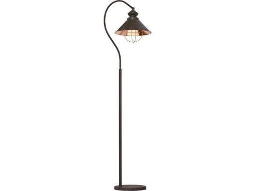 Golvlampa industri LOFT CHOCOLATE